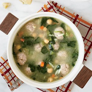 Italian Wedding Soup photo by Pernille Pedersen.