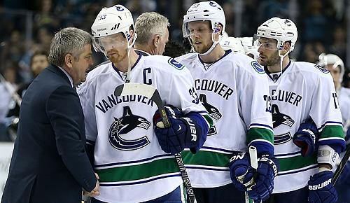 Vancouver Canucks were swept out of 2013 NHL playoffs by San Jose Sharks