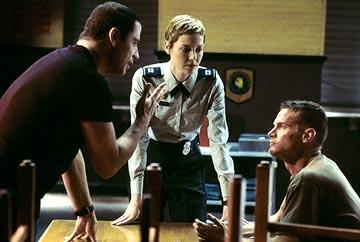John Travolta , Connie Nielsen and Brian Van Holt in Columbia's Basic