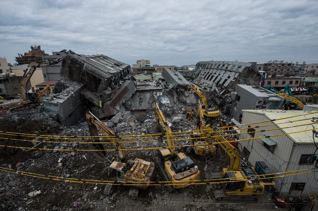Taiwan to seize assets of collapsed building developer