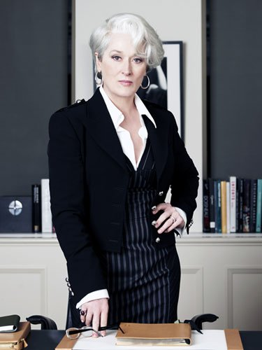 Meryl Streep in The Devil Wears Prada, 2006