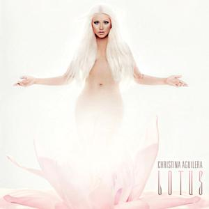 PIC: Super Blonde Christina Aguilera Poses Nude on Lotus Album Cover