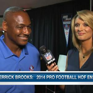 Pro Football Hall of Fame inductee Derrick Brooks reflects on the Hall of Fame