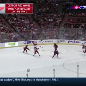 Roberto Luongo Save on Riley Sheahan (16:30/1st)