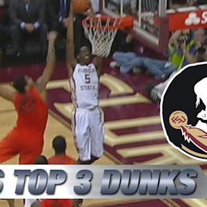 Top 3 Florida State Dunks vs Miami