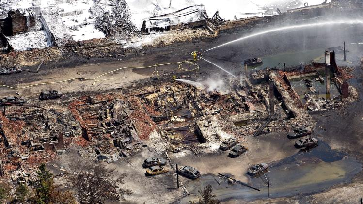 40 still missing in deadly Canada rail crash, fire