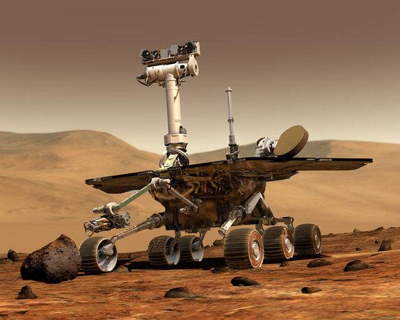 Mars Rover Opportunity Nears Nebulous Off-Planet Driving Record