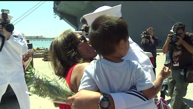 USS America Returns After South American Deployment