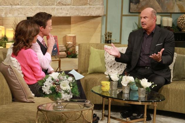Dr. Phil McGraw chats with Billy Bush and Kit Hoover on Access Hollywood Live, November 29, 2012 -- Access Hollywood