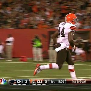Cleveland Browns running back Ben Tate 1-yard touchdown run