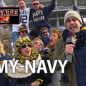 CBS Local Sports - Tailgate Fan: Army - Navy