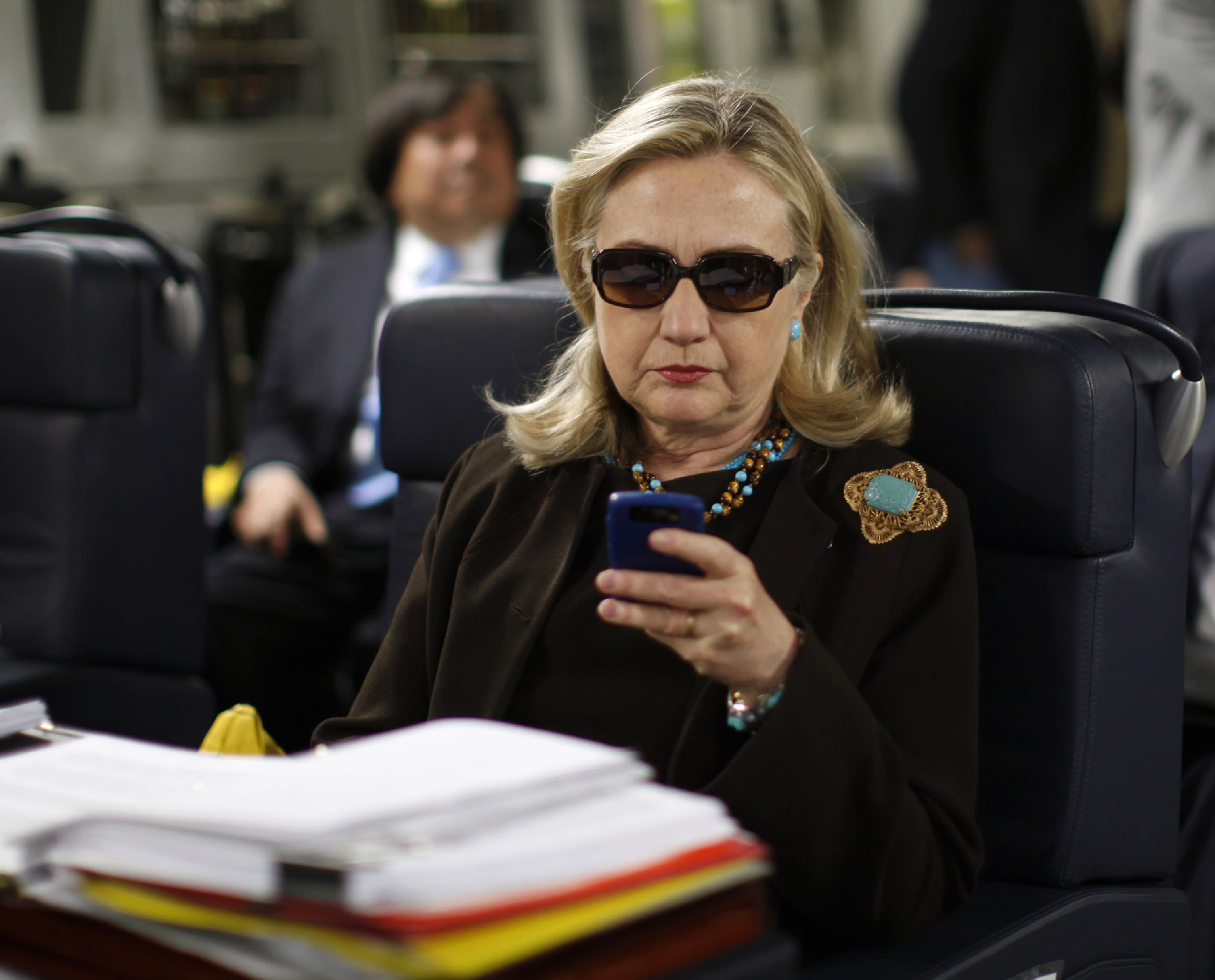 AP Exclusive: Clinton email server setup risked intrusions