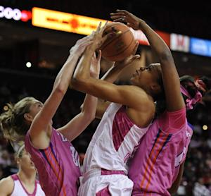 Tenth-ranked Maryland women beat Clemson 95-43