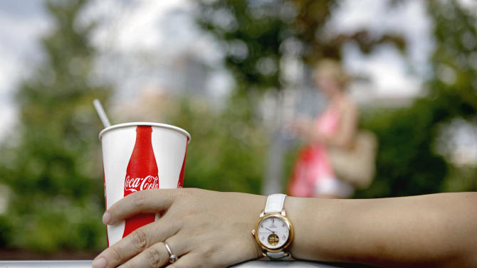 Coca-Cola's profit rises despite sluggish growth