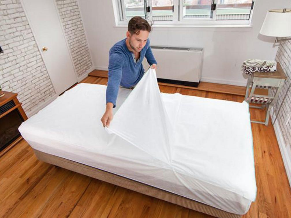 Someone invented a bed sheet for college students that never needs to be washed