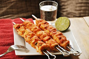 Spicy Chicken Skewers
