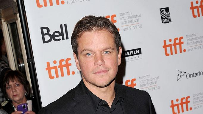 Matt Damon Toronto Film Fes