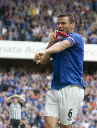 Lee McCulloch scored the opener for Rangers