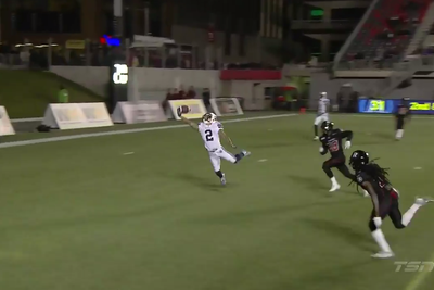 CFL player makes ludicrous diving, one-handed, game-winning touchdown grab