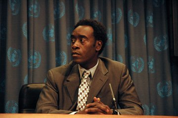 Don Cheadle in Warner Indepedent's Darfur Now
