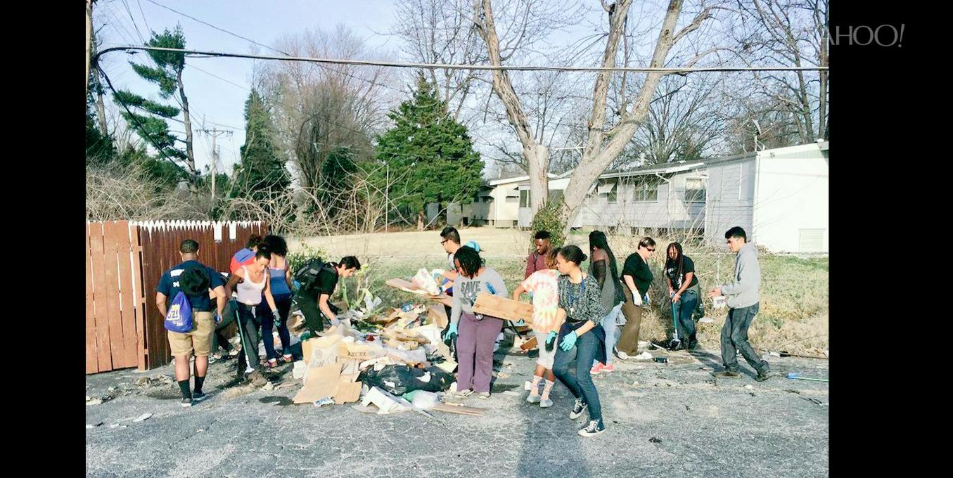 Civic-minded college students seek out alternative spring break program in Ferguson, Missouri