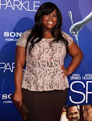 Amber Riley cries discussing body image on TV