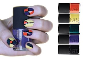 5 Fabulously Festive DIY Nail Designs: Pop-Art Icon