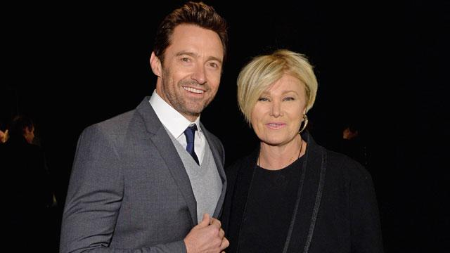 Hugh Jackman's Wife Says He's 'Not Allowed' to Work With Angelina Jolie