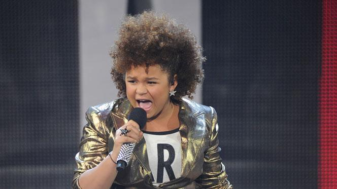 "Rachel Crow performs ""Nothin' on You"" by B.o.B on ""The X Factor."""