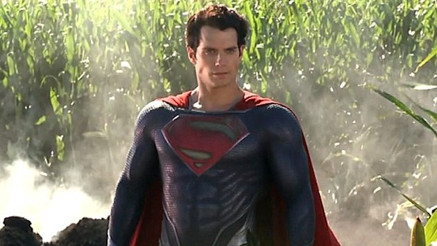 British actor Henry Cavill on his new role as Superman.