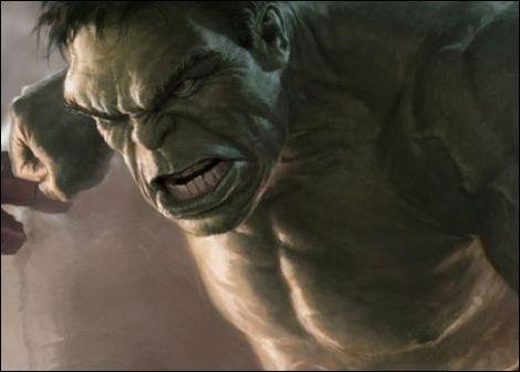 "The Incredible Hulk in ""The Avengers."""