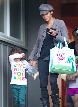 Finally! Halle Berry Cracks A Smile After Weeks Of Family Drama