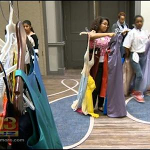 Local Group Offers Free Prom Dresses To Students In Baltimore
