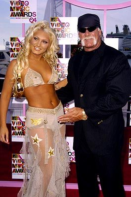 Brooke Hogan and father Hulk Hogan MTV Video Music Awards - 8/29/2004 Brooke Hogan