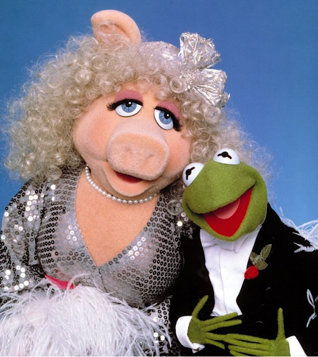 Kermit The Frog and Miss Piggy …