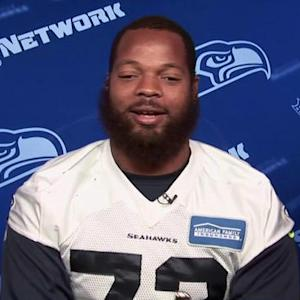 Seattle Seahawks defensive end Michael Bennett on brother rivalry