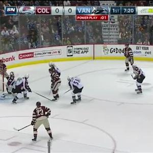 Reto Berra Save on Radim Vrbata (12:46/1st)
