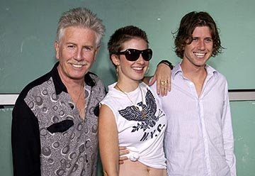 Graham Nash and family at the LA premiere of Paramount's The School of Rock