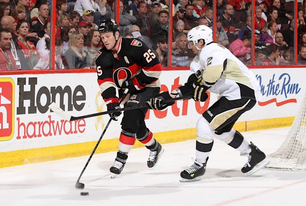 Pittsburgh Penguins v Ottawa Senators