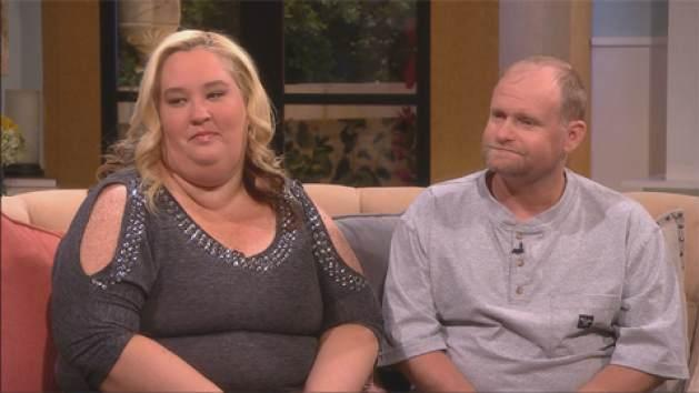 Mama June and Sugar Bear stop by Access Hollywood on September 11, 2013 -- Access Hollywood