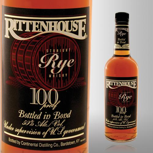 Rittenhouse Bottled-in-Bond Straight Rye Whiskey