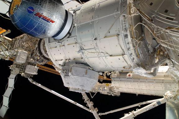 Inside NASA's Deal for an Inflatable Space Station Room