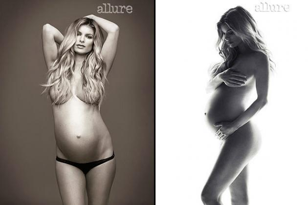 Marisa Miller poses in Allure (Dec. 2012) -- Brian Bowen Smith