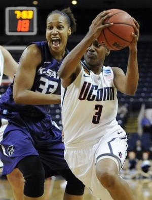 UConn women's stellar D leads them past K-State