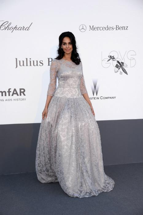 Mallika Sherawat's fashion flub at amFAR