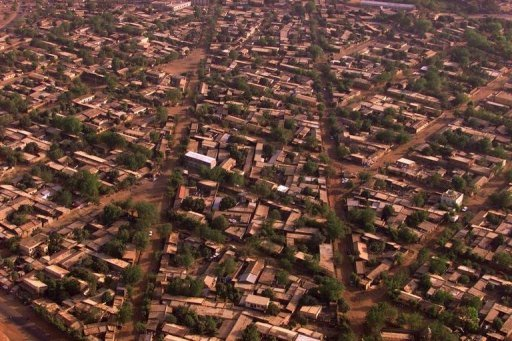 "<p>Aerial view of the Malian capital Bamako. Gunmen abducted the director of a Malian private newspaper from his office and beat him ""to a pulp"" before releasing him, a colleague told AFP.</p>"