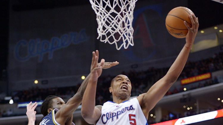 NBA: Utah Jazz at Los Angeles Clippers