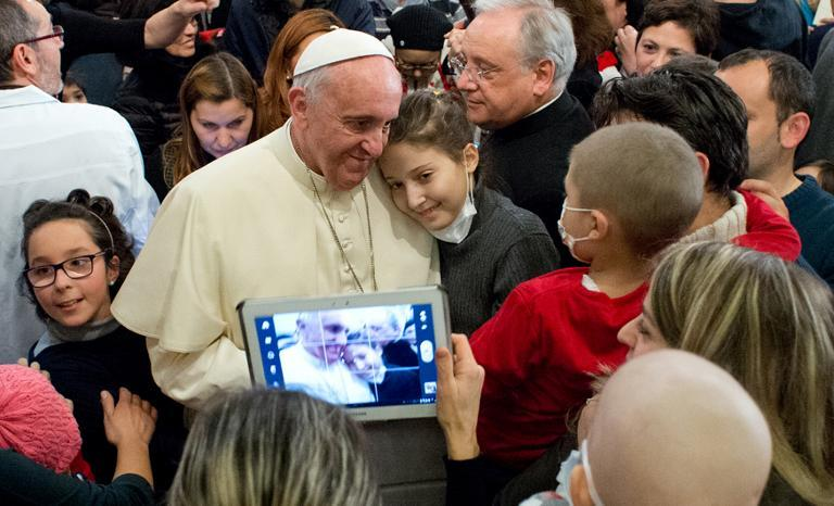 Pope says Internet 'gift from God'