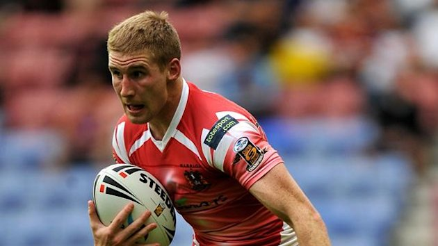 RUGBY LEAGUE Sam Tomkins of Wigan Warriors during win over Huddersfield