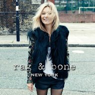 Supermodel Kate Moss is fronting the first ever advertising campaign for Rag & Bone